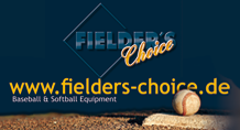 Unser Sponsor: fielders-choice.de