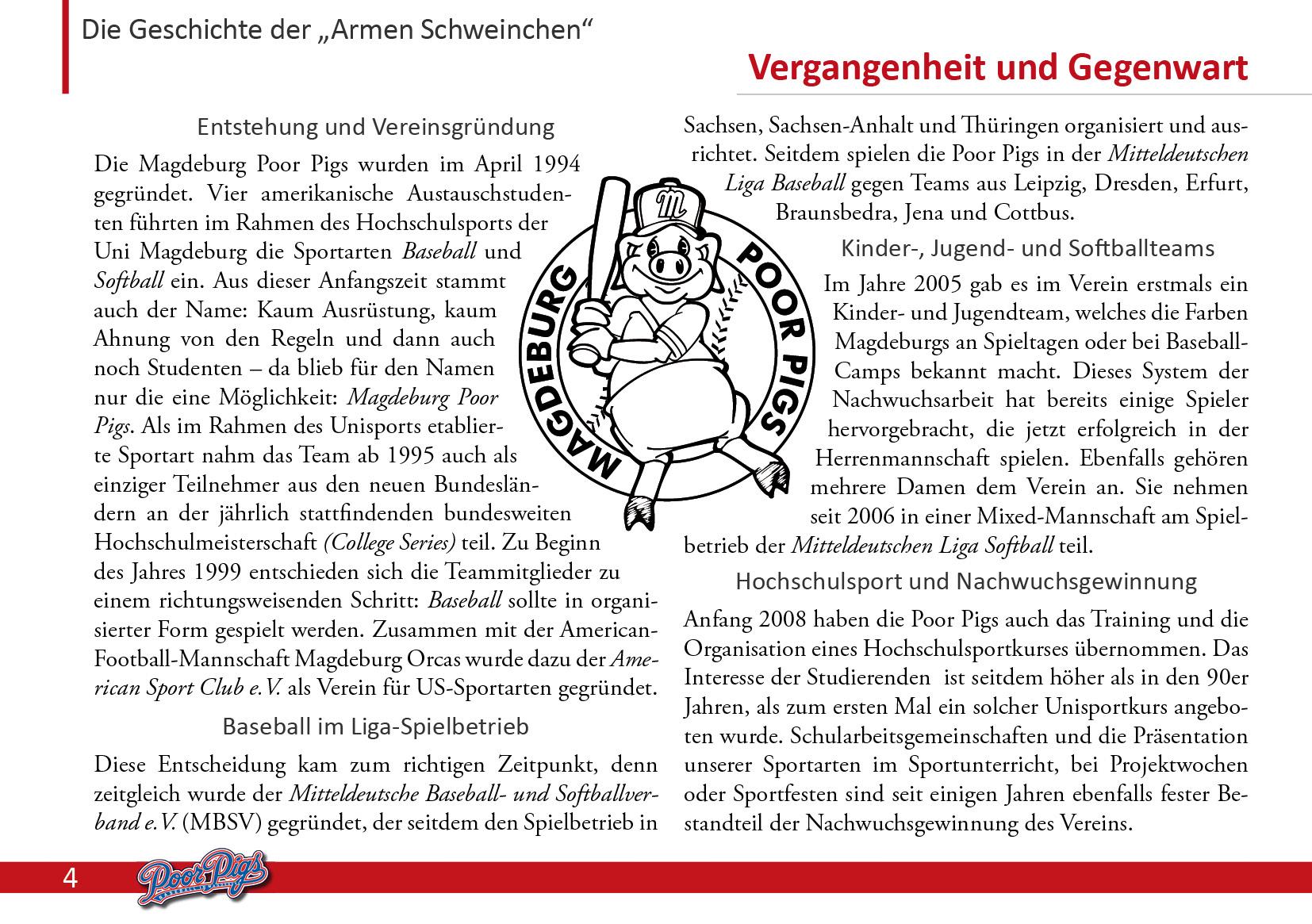 Sponsoren und Partner : poorpigs.de - Baseball und Softball in Magdeburg