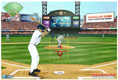 miniclip.com - Baseball-Bottom of the 9th (Flash-Spiel)